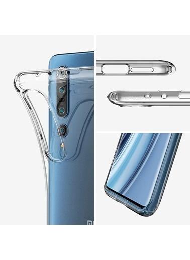 Spigen Xiaomi Mi 10 Pro / Mi 10 Kılıf, Liquid Crystal 4 Tarafı Tam Koruma Renkli